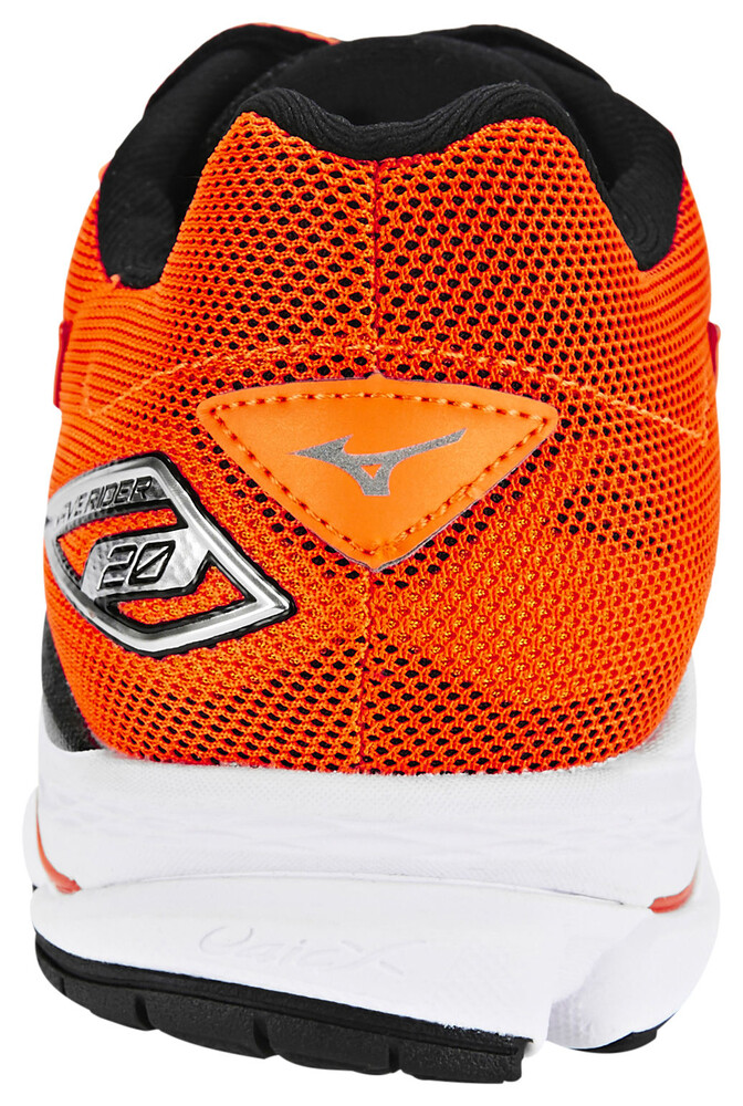Mizuno Wave Rider 20 Chaussures de running orange